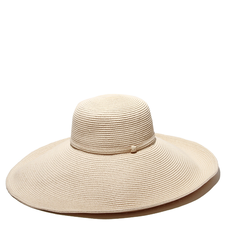 Elegant Ivory Bella Luxury Hat