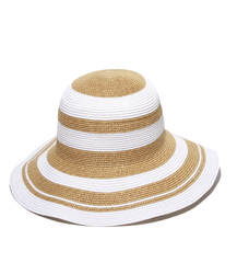 Summer Elegant White Gold Beach Hat