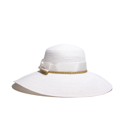 Summer Elegant White Gold Hat
