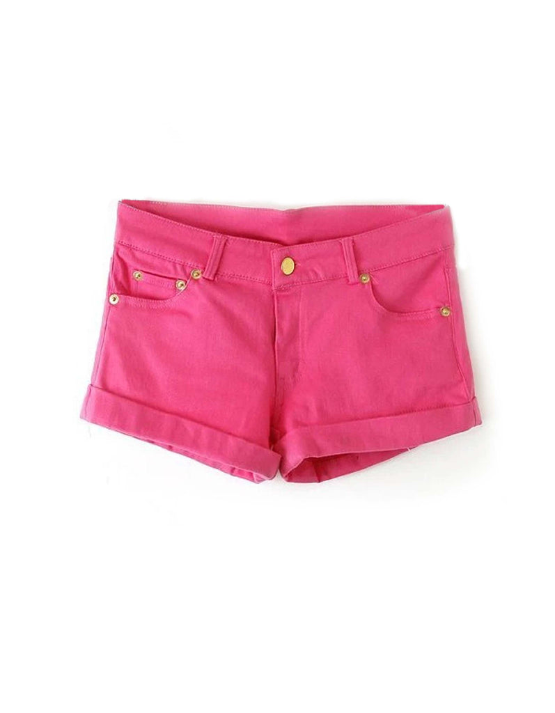 Summer Hot Pink Shorts