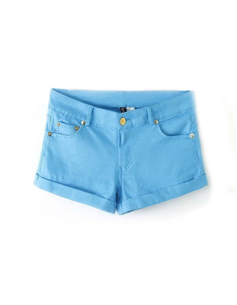 Summer Blue Sky Shorts