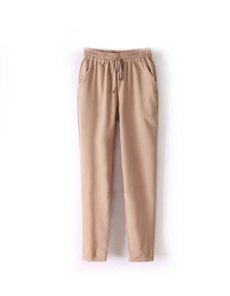 Beige pants, Summer pants