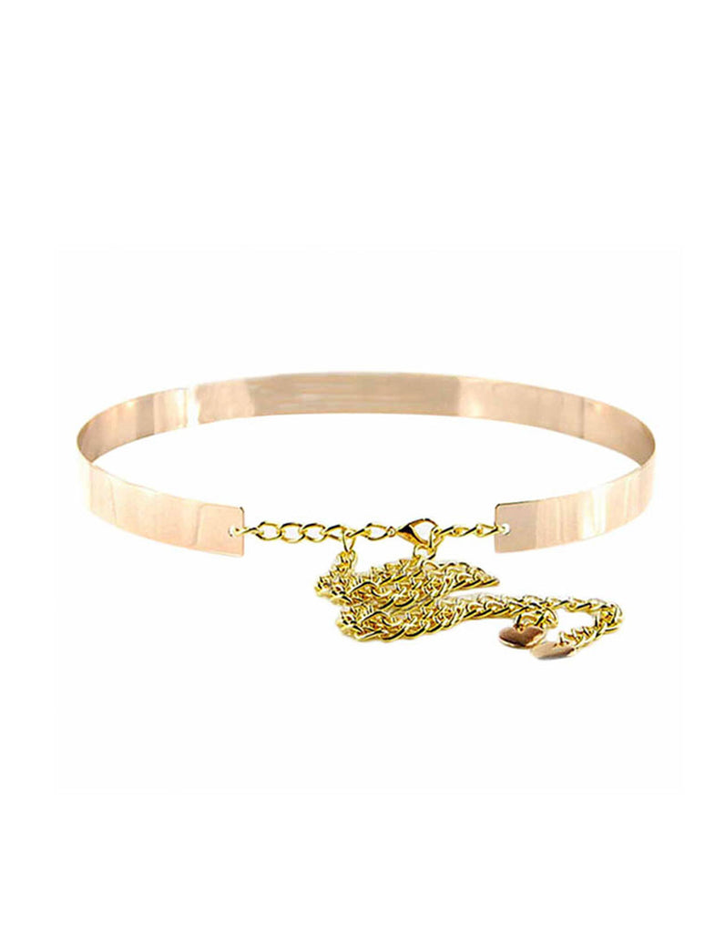 Fashion Gold Metallic Belt