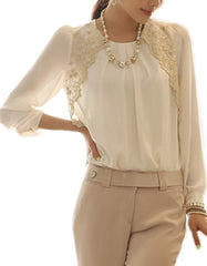 Long sleeved Lace Blouse