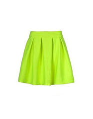 Green Skater Mini skirt