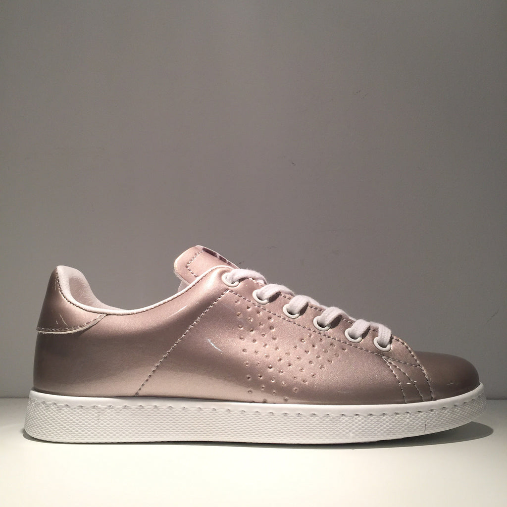 Fashion Glossy Grey Sneaker