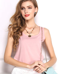 Soft Pink Summer Blouse