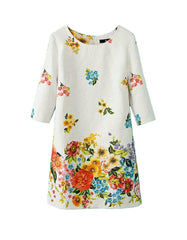 Floral Cocktail Summer Dress