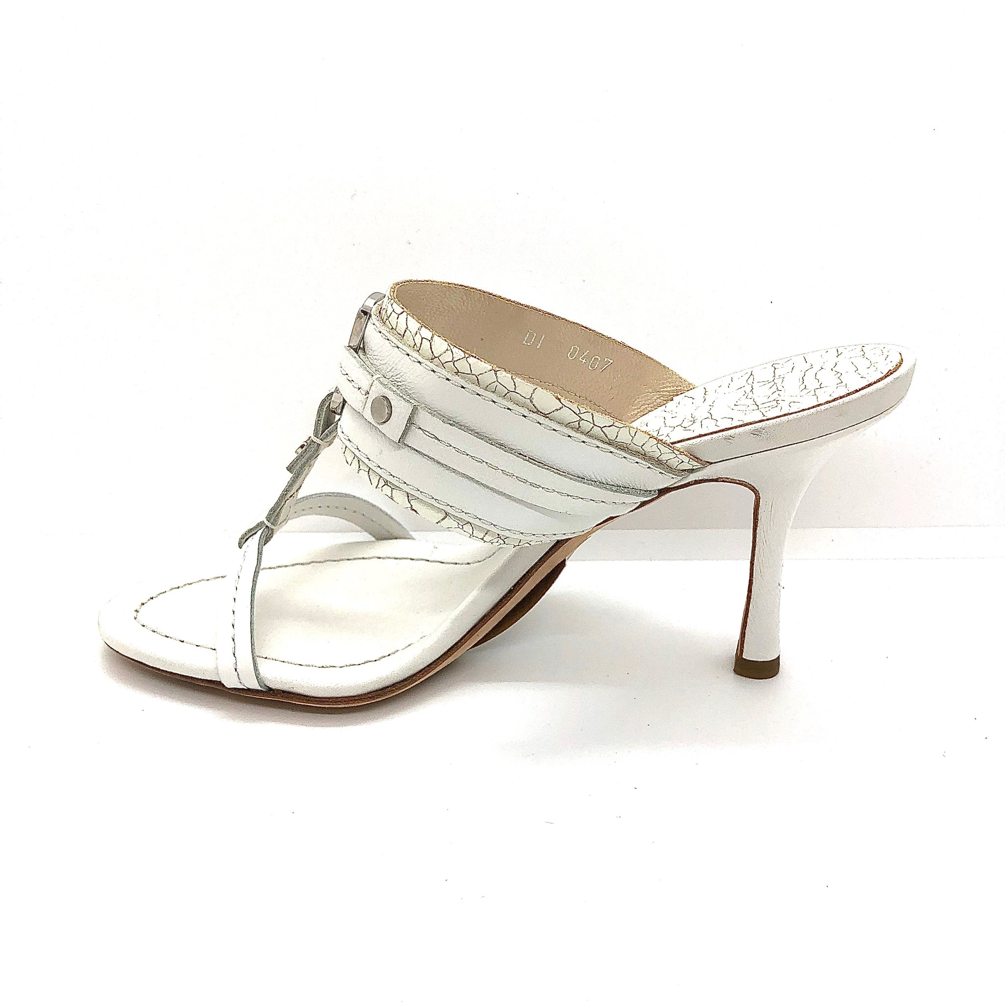 "Dior White Size 35.5 3.5"" Shoes"