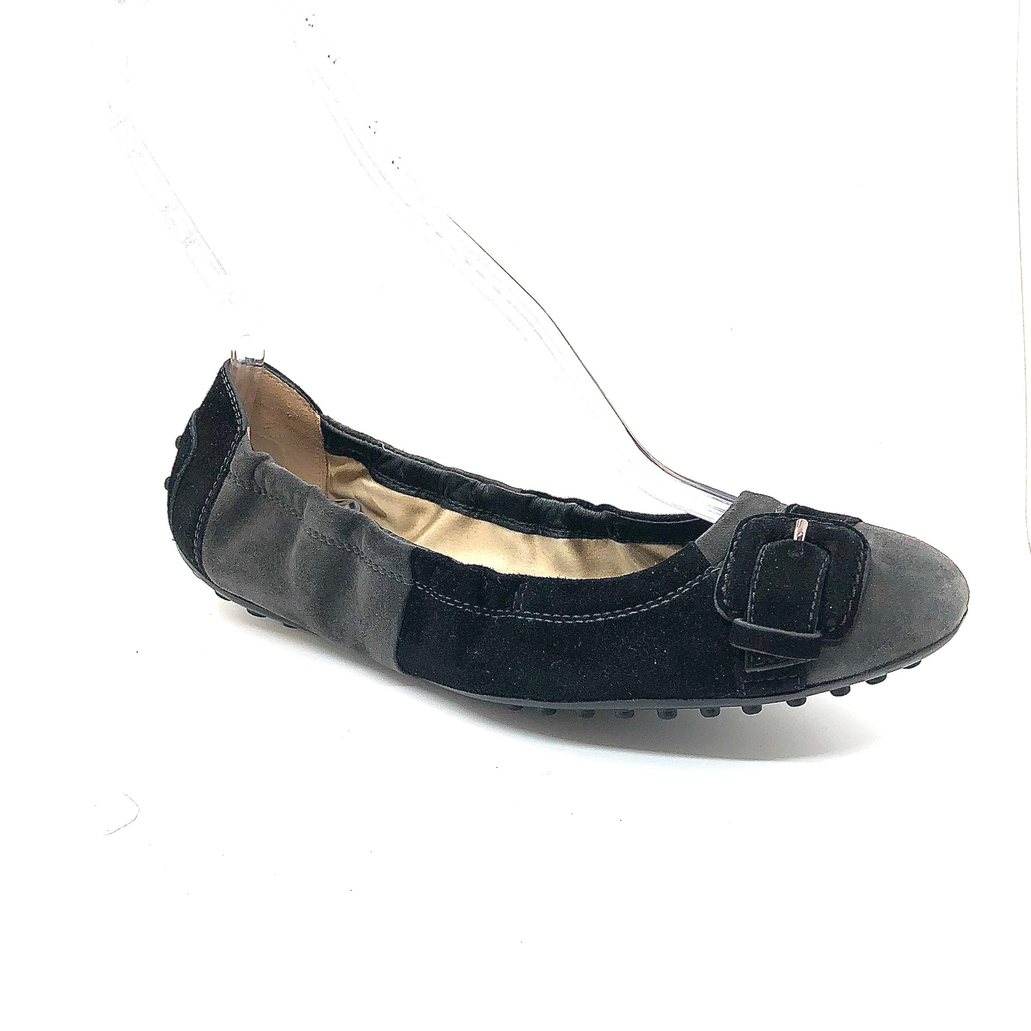 Tods Black Size 38 Women's Shoes