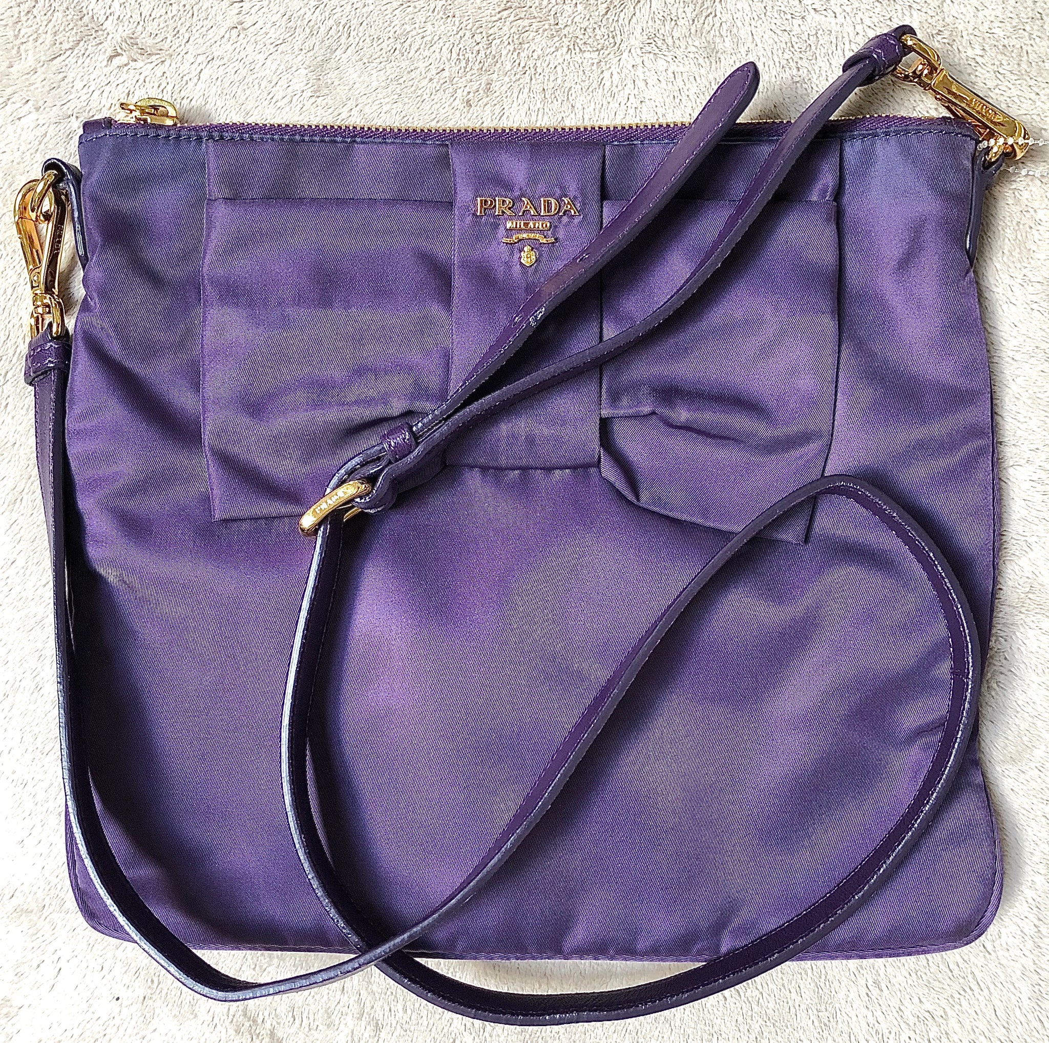 Prada Purple Women's Handbag