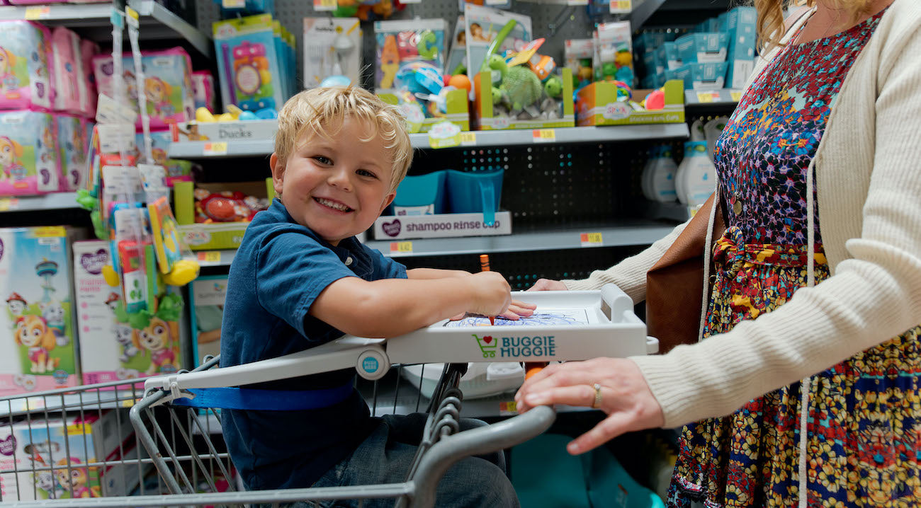 How To Keep Kids Smiling Bright (Even In The Grocery Store!)