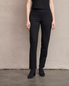 Habitat Black Straight Pant - Chic Thrills Boutique