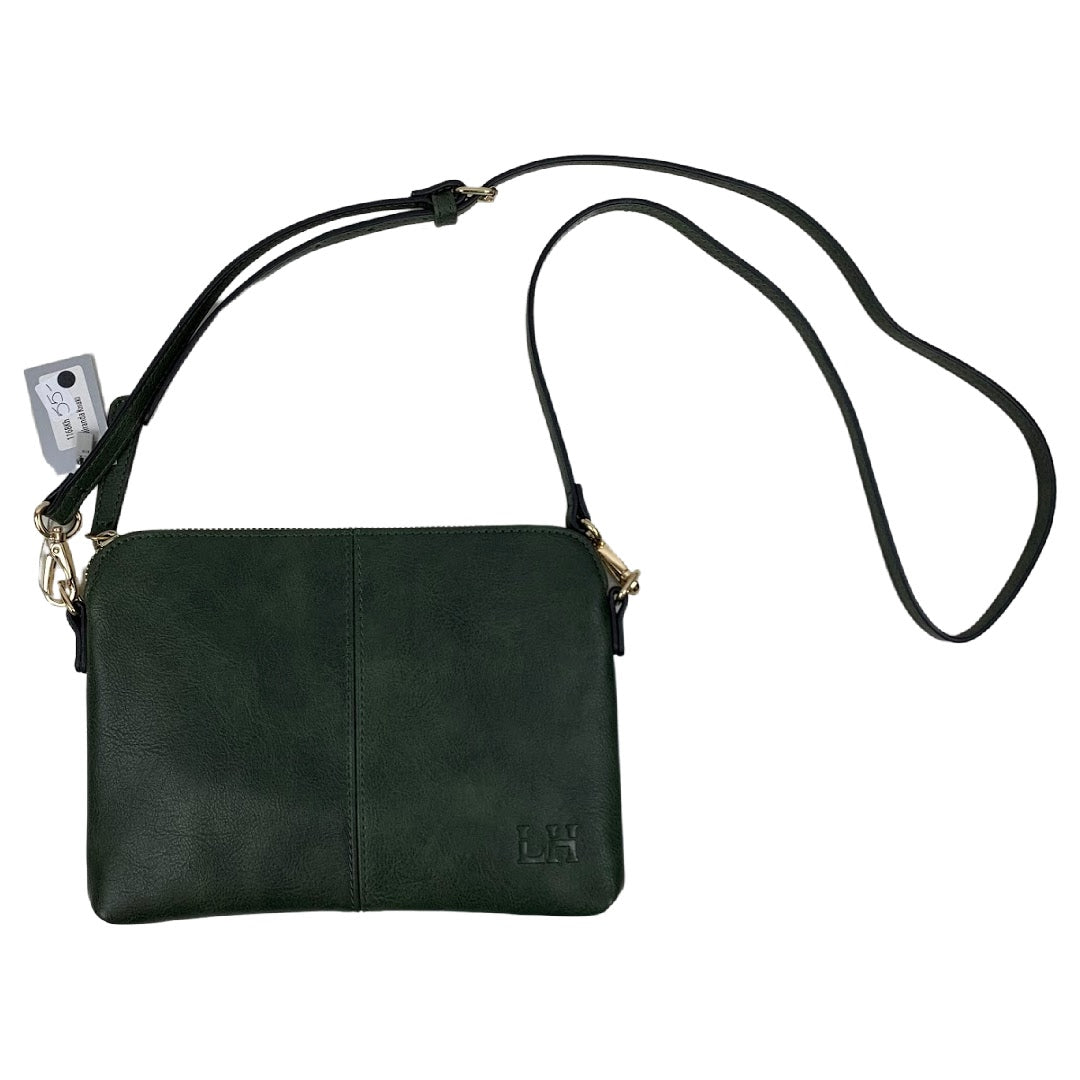 Louenhide Dark Green Purse - Chic Thrills