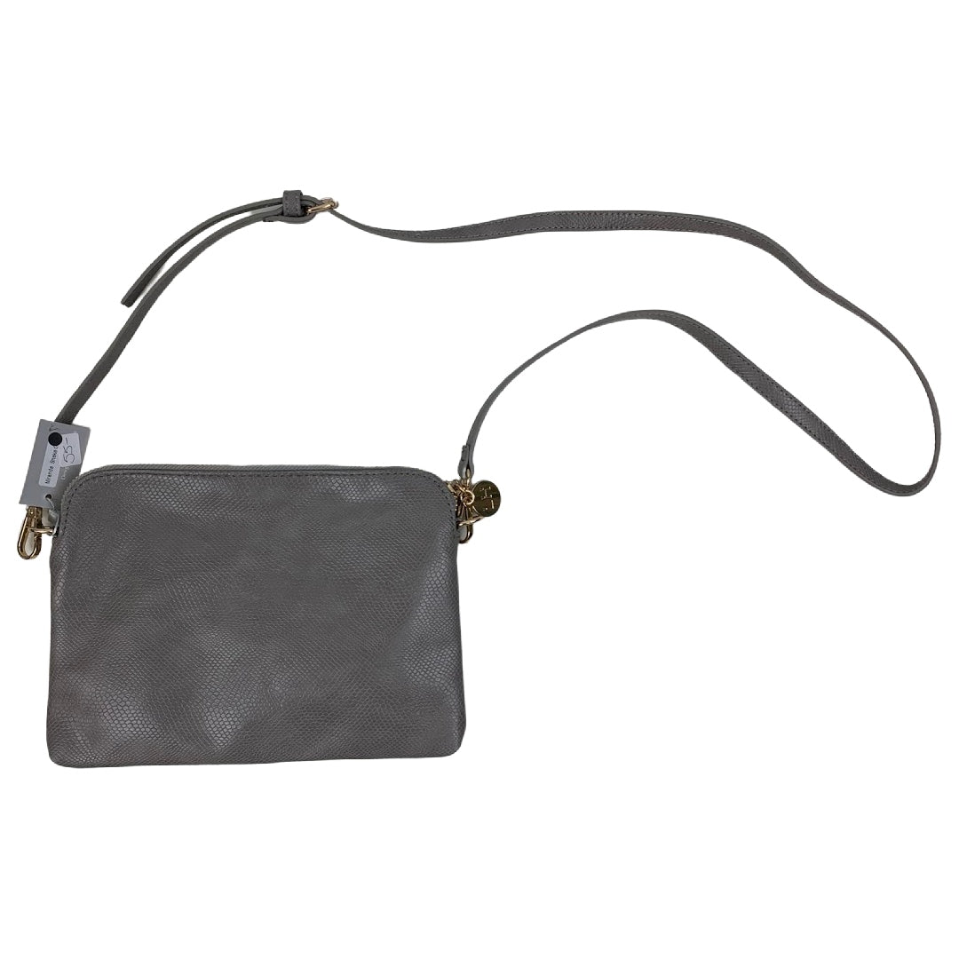 Louenhide Grey Snake Pattern Purse - Chic Thrills