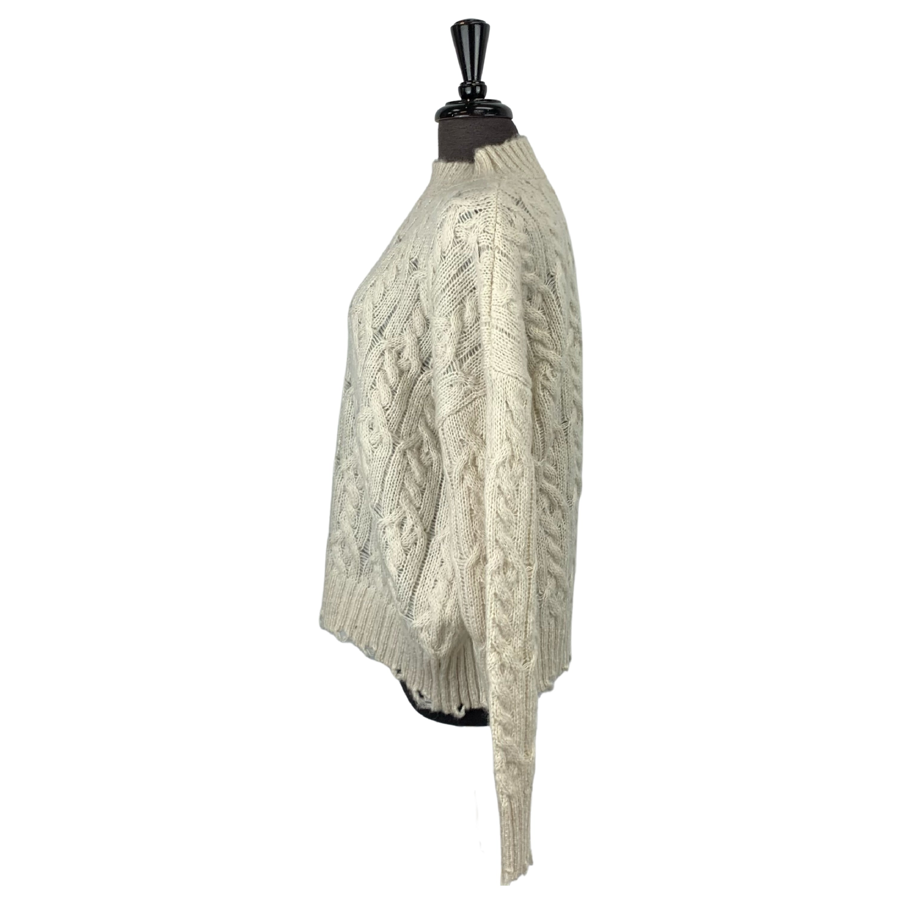 C'est Moi Ivory Knit Sweater - Chic Thrills Boutique