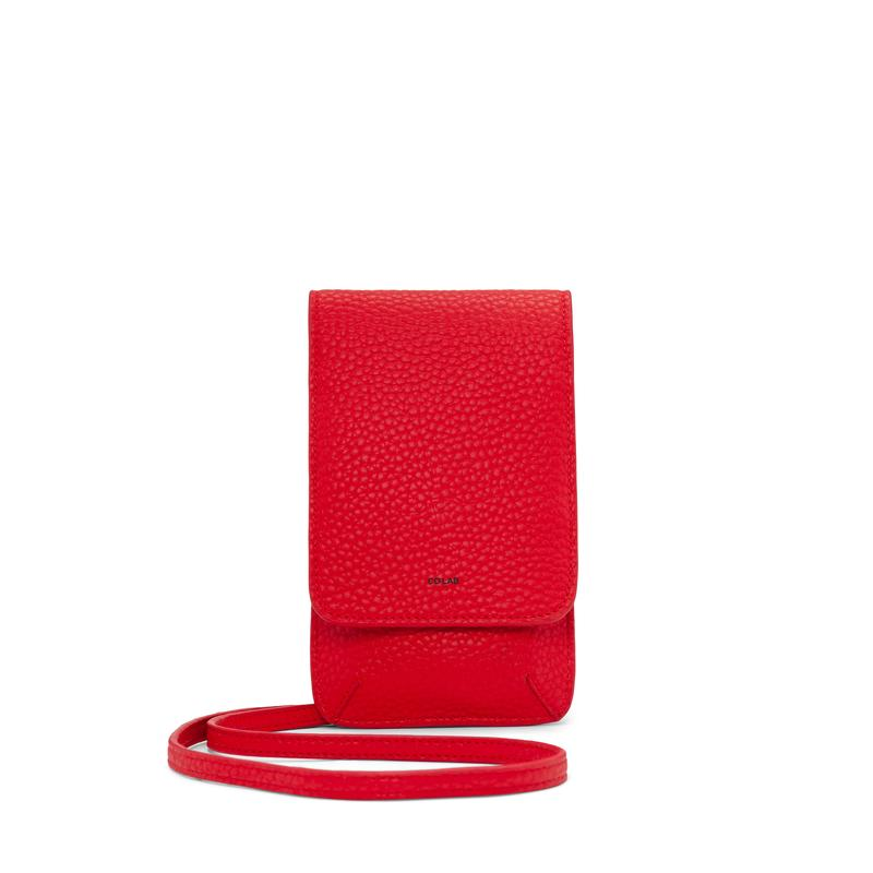 Co-Lab Candy Apple Red Crossbody Pouch