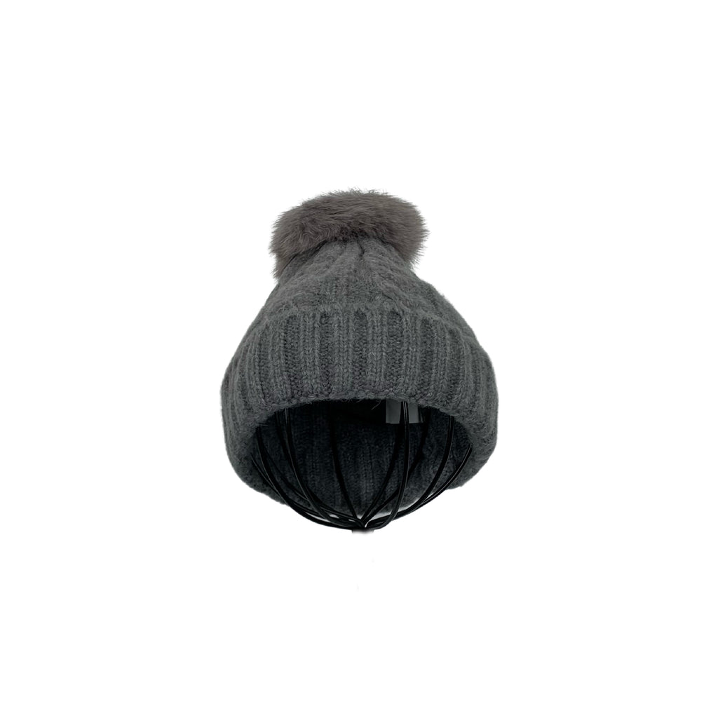 Miss Caprice Grey Tuque - Chic Thrills