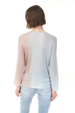 Load image into Gallery viewer, Charlie B Pearlpink Ombre Sweater