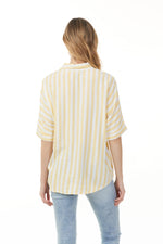 Load image into Gallery viewer, Charlie B Canari Bold Stripe Top