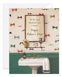 Handsome Dad Card