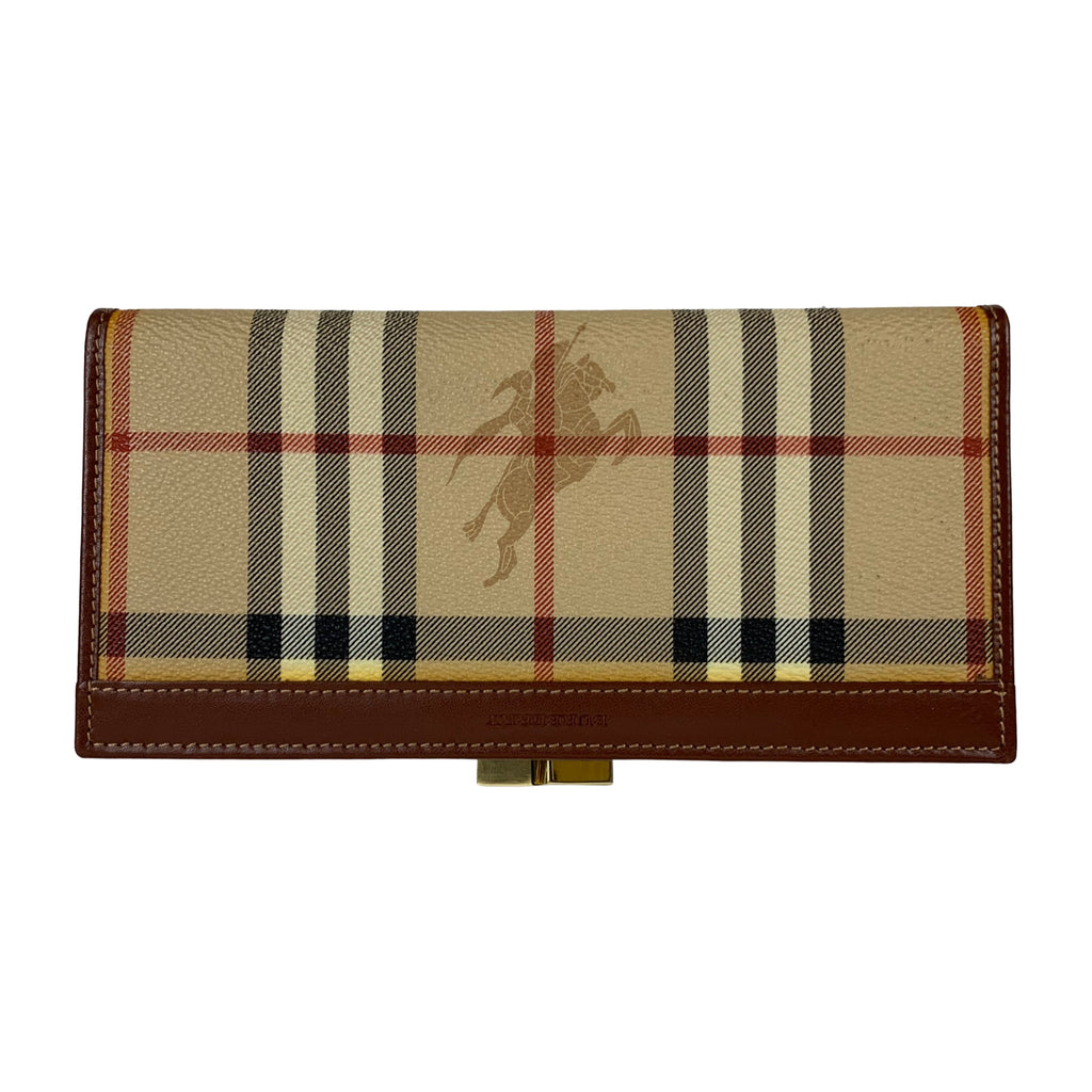 Burberry Classic Check Wallet - Chic Thrills