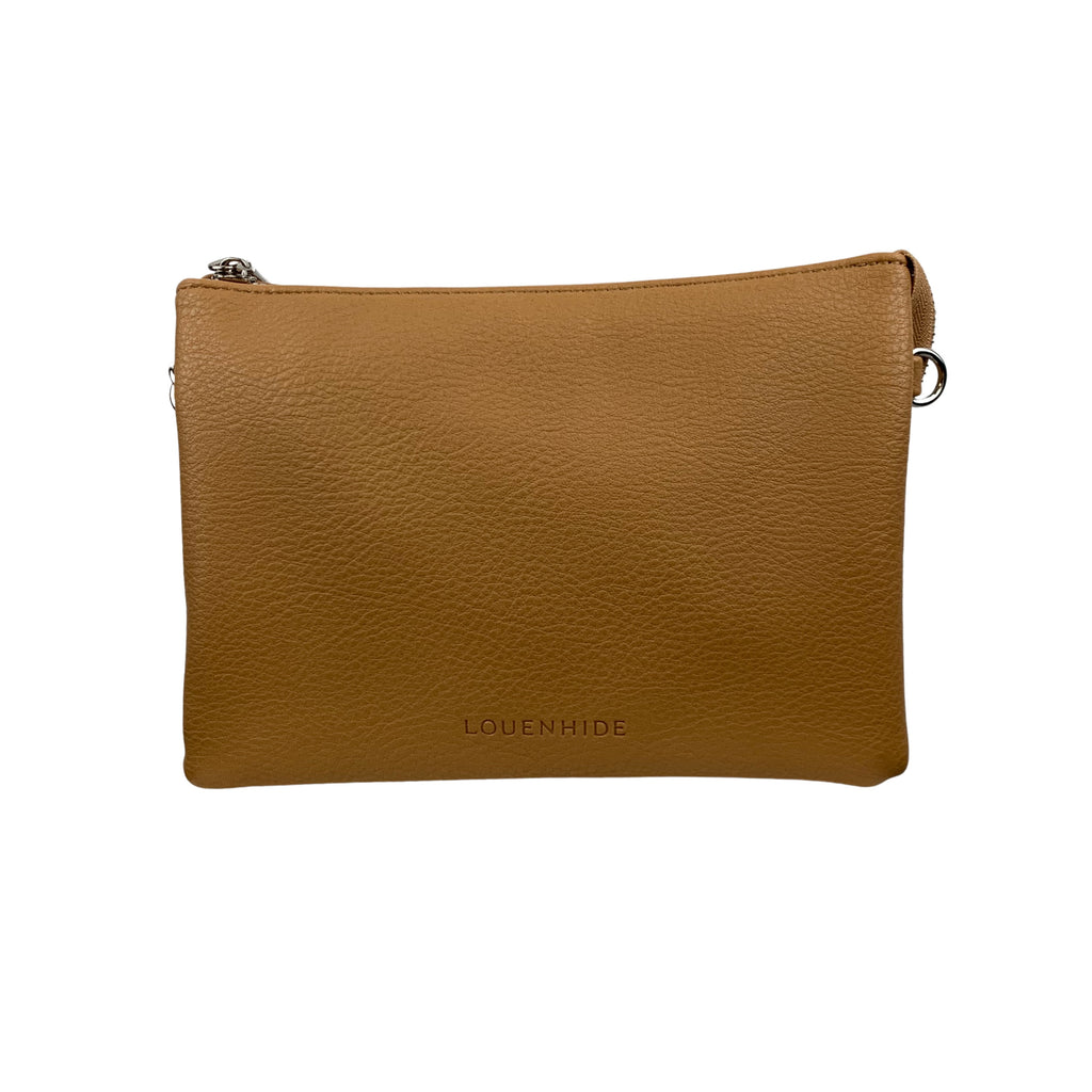 Louenhide Josie Camel Crossbody Bag - Chic Thrills Boutique