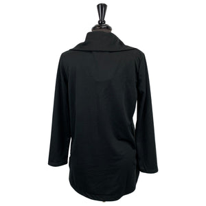 Paolo Tricot Black Jacket - Chic Thrills