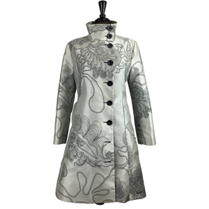 Desigual Embroidered Coat - Chic Thrills