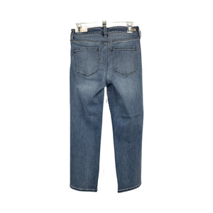 Liverpool LA Gordon Straight Crop Jeans - Chic Thrills