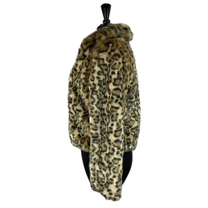 Cartise Faux Leopard Fur Jacket - Chic Thrills