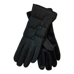 Miss Caprice Faux Fur Lined Gloves - Chic Thrills