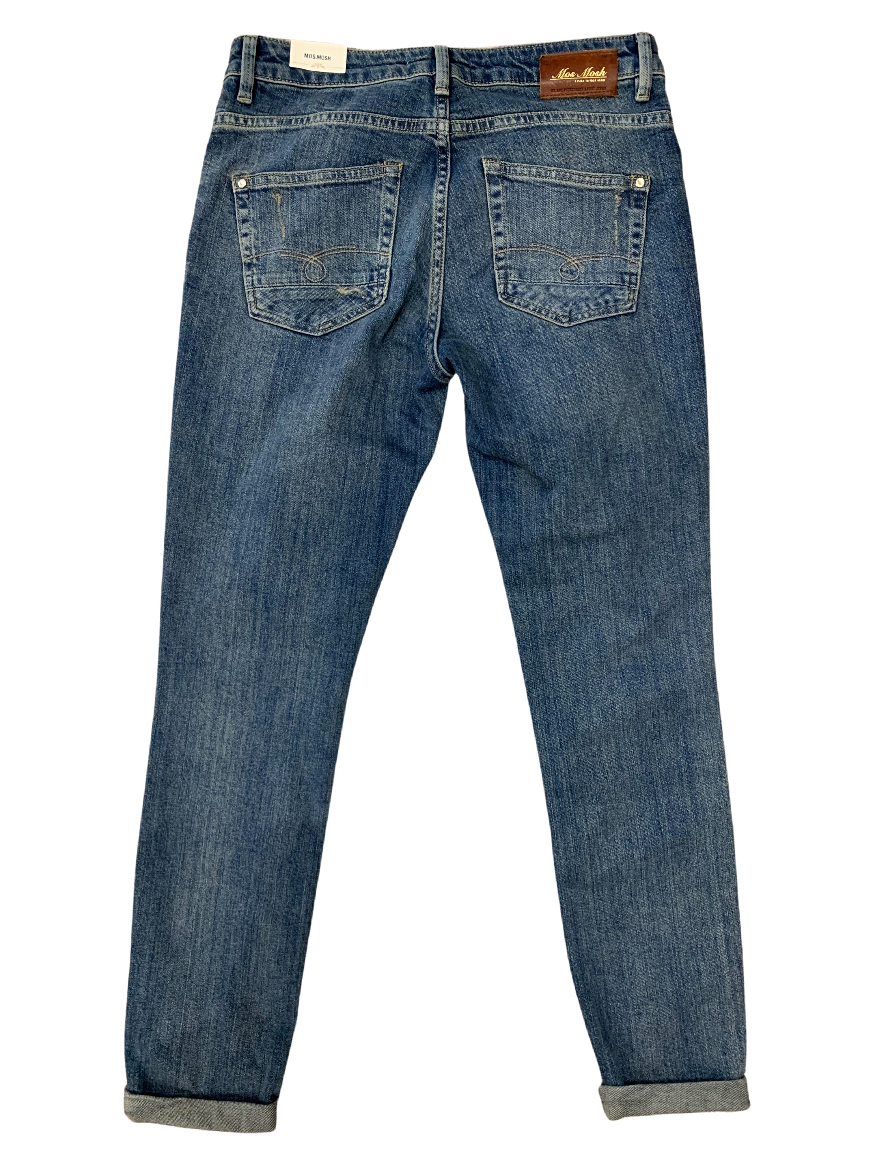 Mos Mosh Bradford Worked Jeans