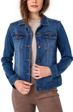 Load image into Gallery viewer, Liverpool Foundry Jean Jacket - Chic Thrills Boutique