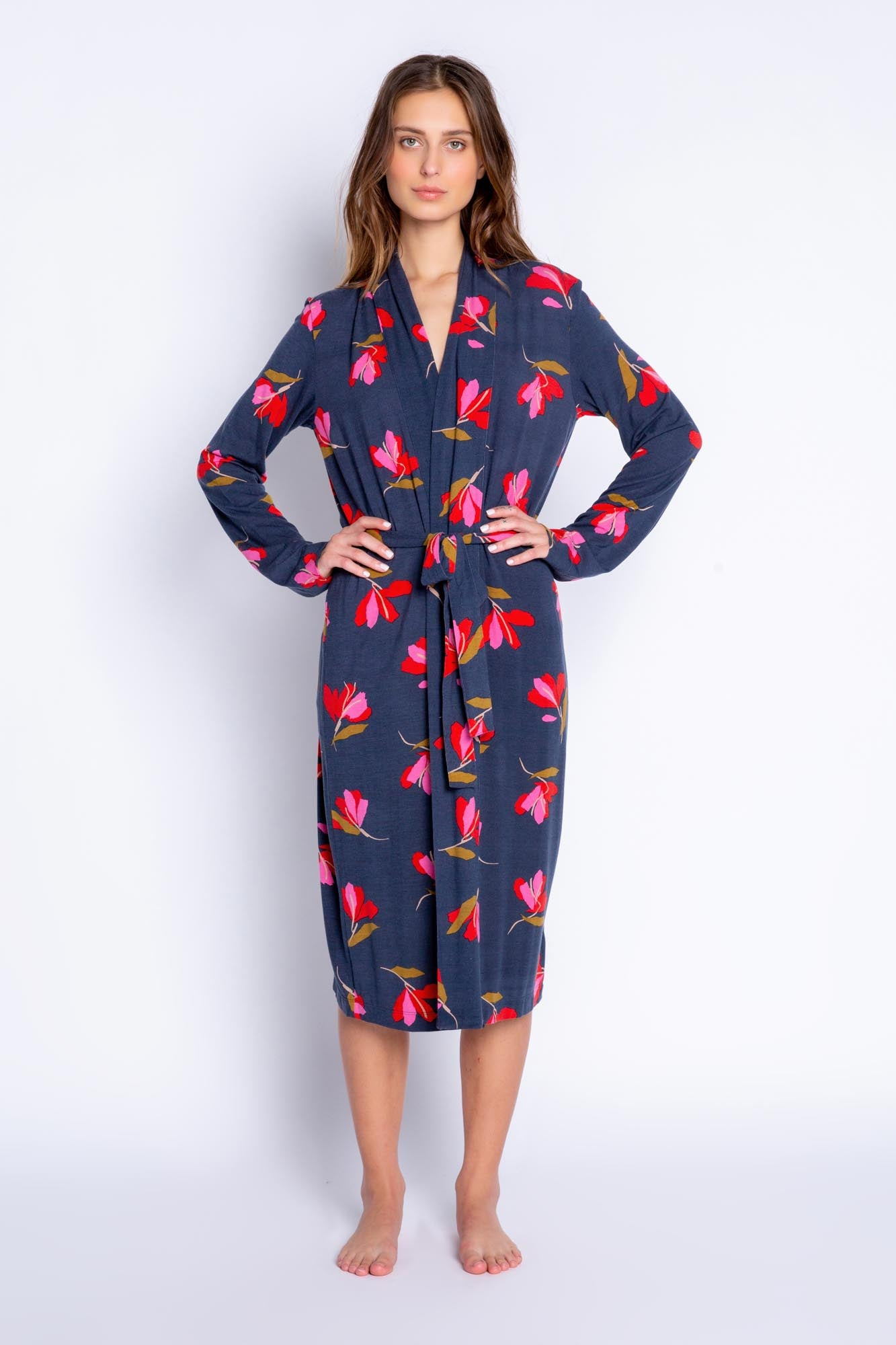 PJ Salvage Love Blooms Robe