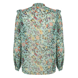 Esqualo Flower Garden Blouse