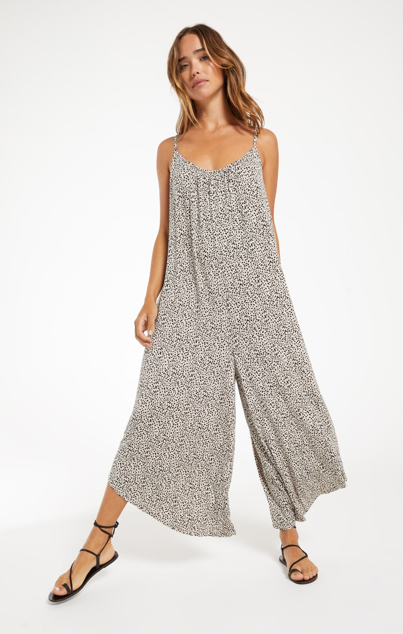 Z Supply Leopard Jumpsuit