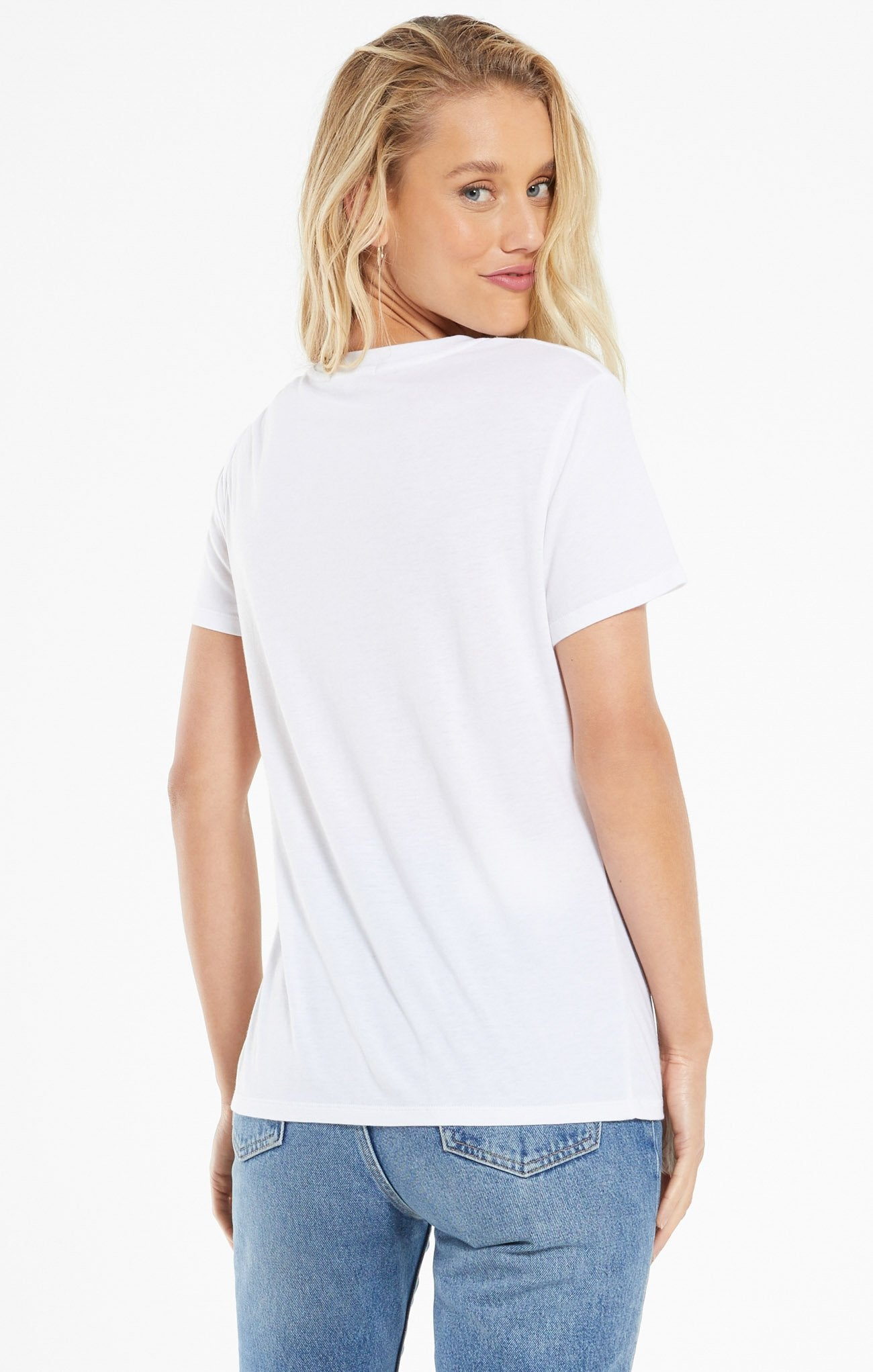 Z Supply Easy Modal Tee - White