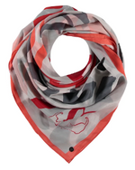 Load image into Gallery viewer, Fraas Coral Love Scarf
