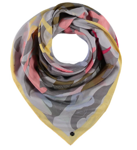 Fraas Yellow Love Scarf