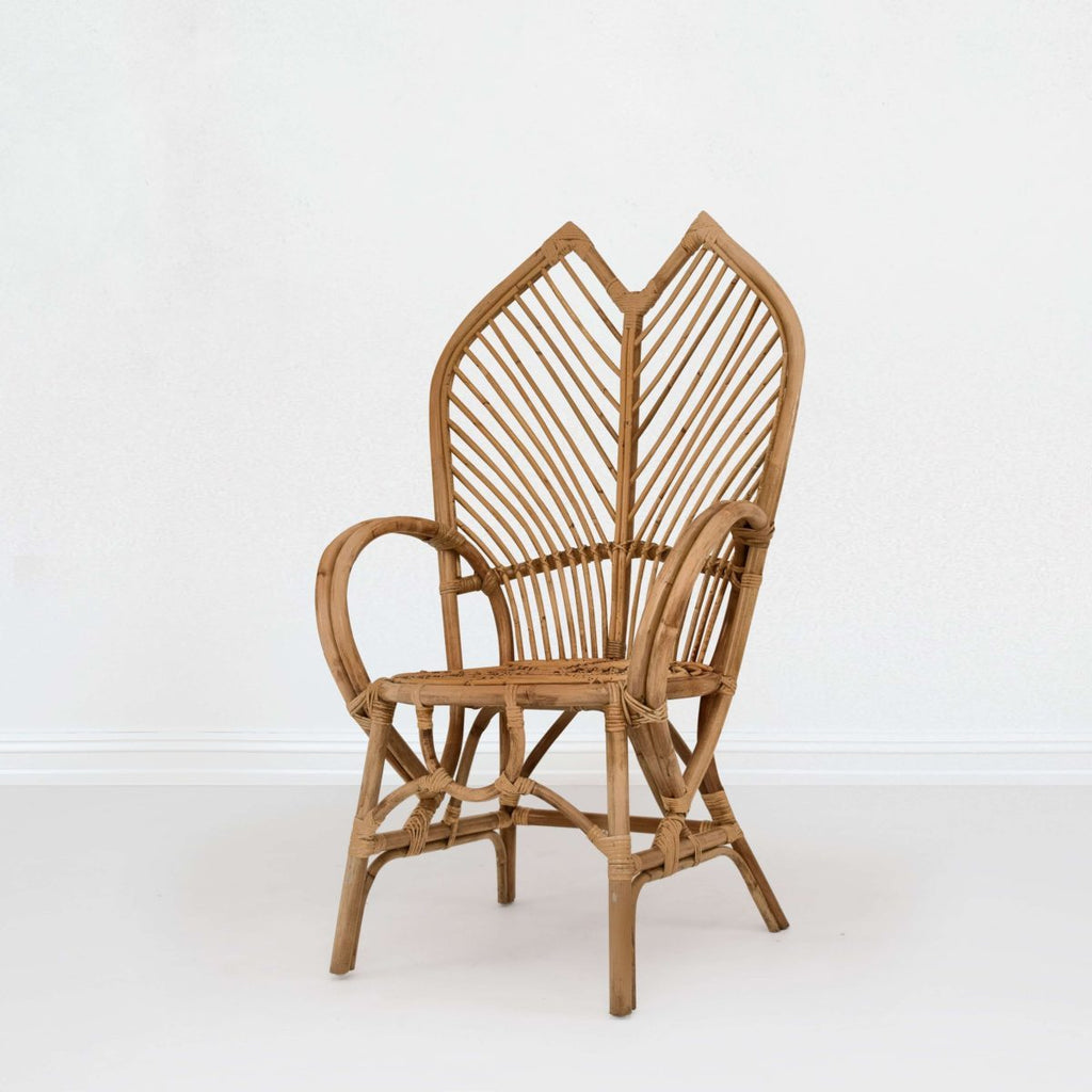 Armchair - Cane - High Back