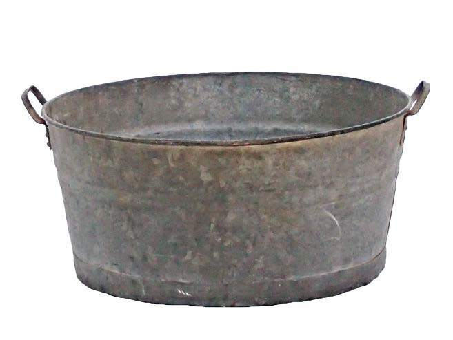 Barware - Galvanised Tub