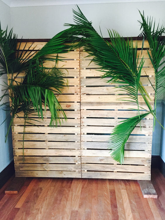 Backdrop - Recycled Timber (pallet)