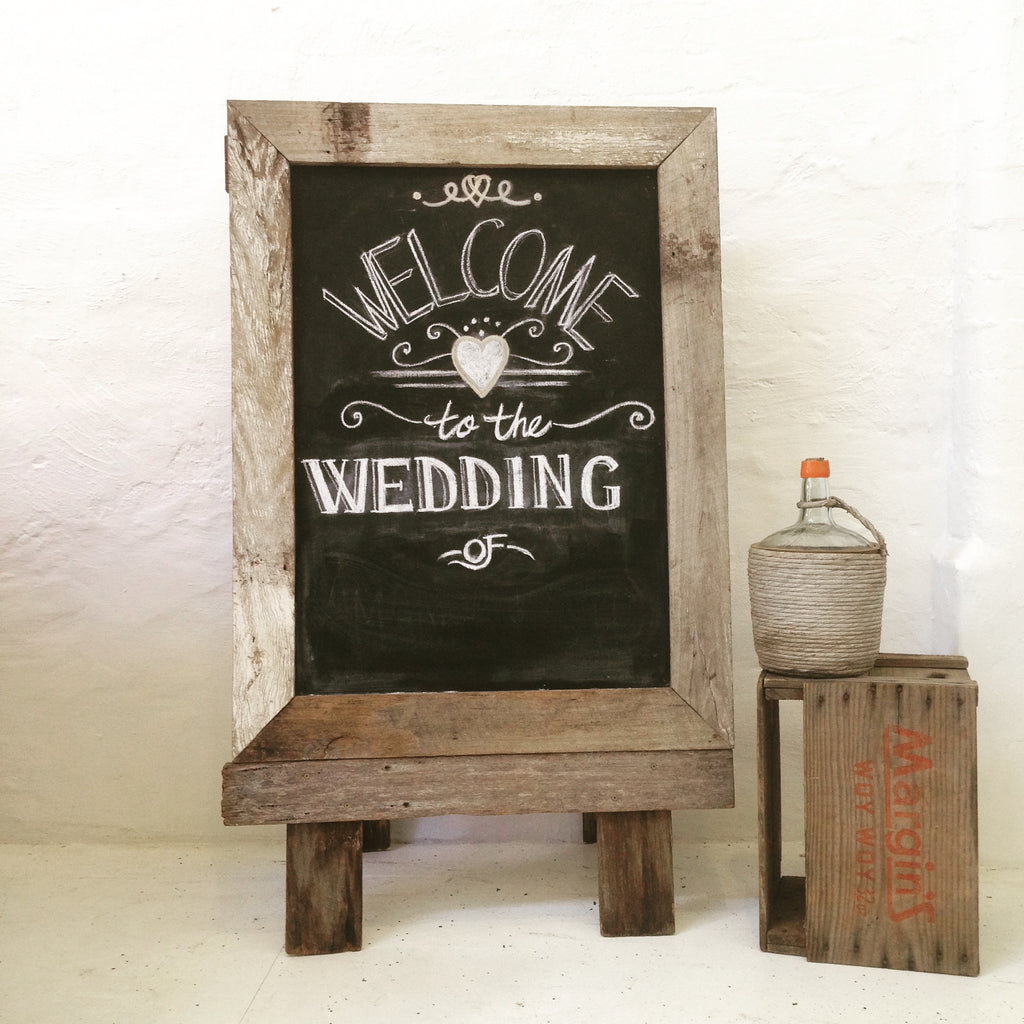 ChalkBoard - Recycled Timber