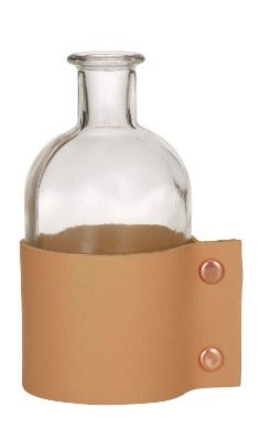 Bottle - Leather Wrapped Medium