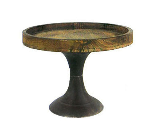 Cake Stand - Rustic Wooden