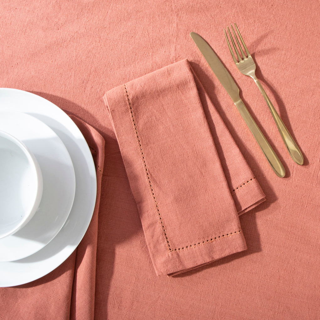 Napkins - Linen - Clay