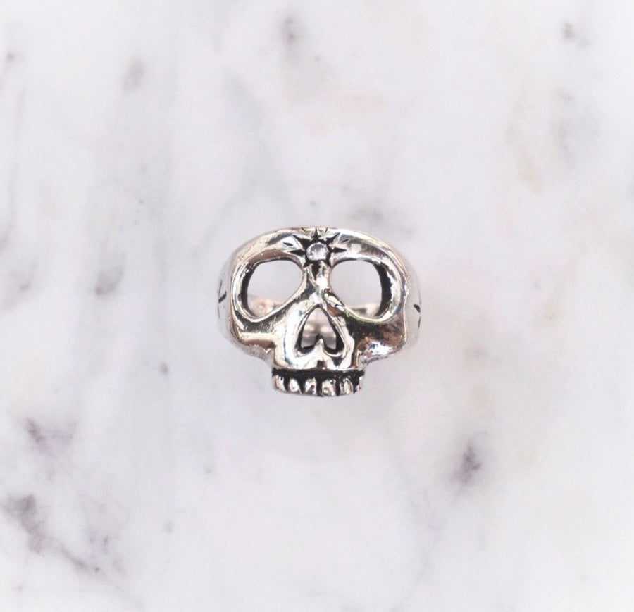 Third Eye Skull Ring
