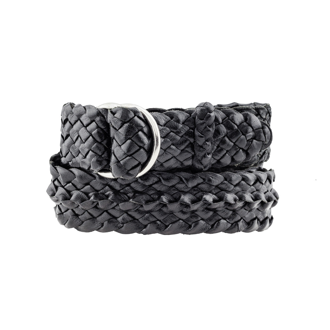 Croc Ridge Kangaroo Plaited Mens Ring Belt (32mm Wide)