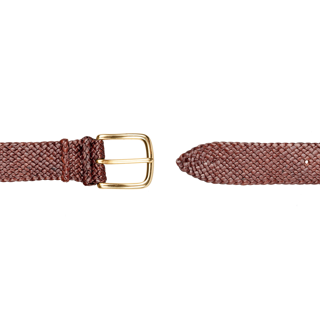 Eureka Kangaroo 16 Strand Plaited Mens Belt (32mm Wide)